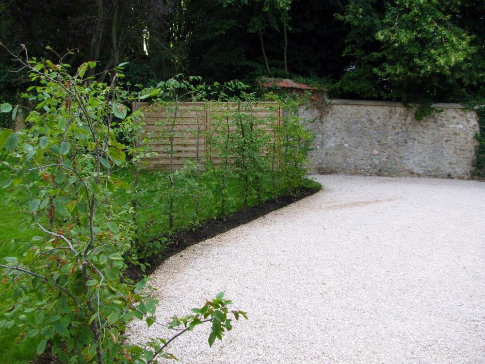 Jardin à la campagne - Extérieurs Verts, les Paysagistes ...