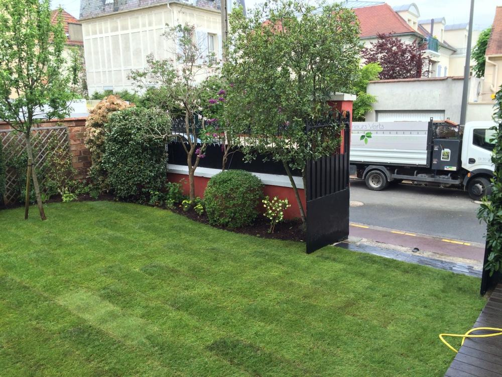 Jardin urbain ext rieurs verts les paysagistes jardiniers for Jardin urbain paysagiste